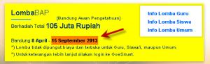 Bandung Awan Pengetahun (BAP) 2013